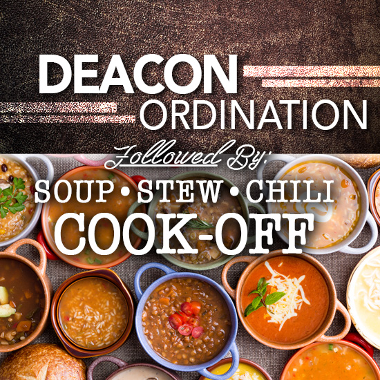 Deacon Ordination/Cook-Off
